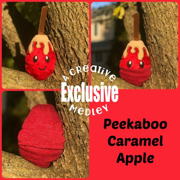 Peekaboo Caramel Apple