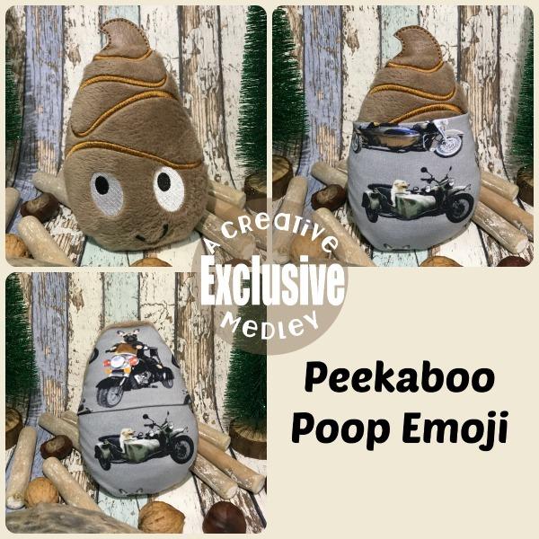 Peekaboo Poop Emoji