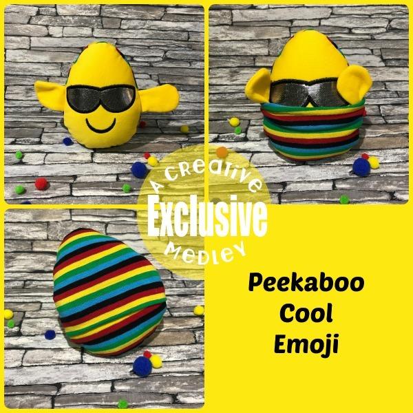 Peekaboo Cool Emoji