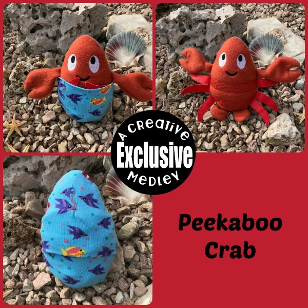Peekaboo Crab